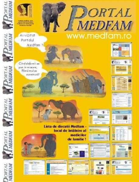 Poster Portalul Medfam
