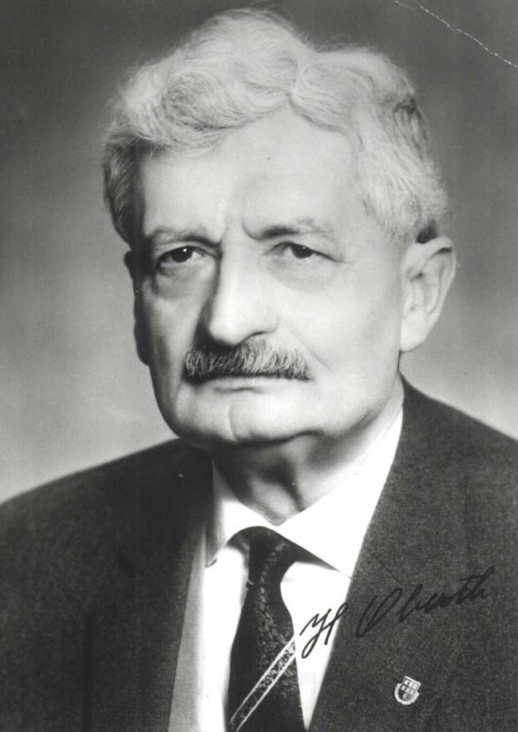 Hermann Oberth, parintele zborului cosmic
