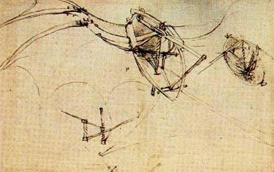 Ornitopterul lui da Vinci