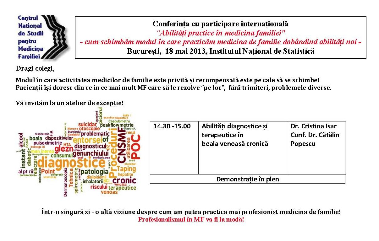 Invitatie Conferinta CNSMF 18 MAI 2013