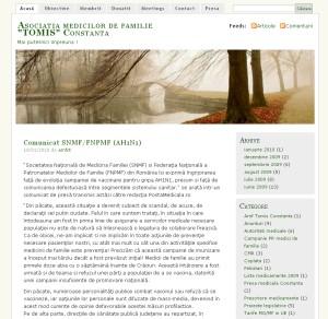 Asociatia Medicilor de Familie Tomis Constanta