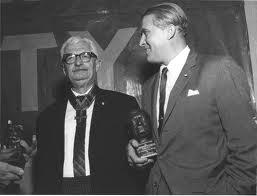 Hermann Oberth impreuna cu Wernher von Braun