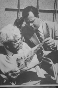 Hermann Oberth si Dumitru Prunariu
