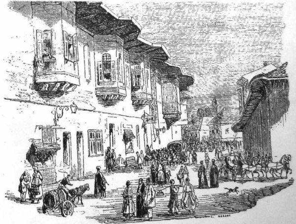 Ulita din Bucuresti sec 19